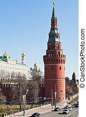 Vodovzvodnaya Tower of Moscow Kremlin