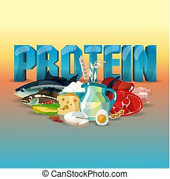 voeding, proteïne