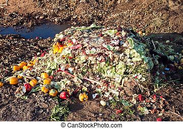 voedingsmiddelen, afval