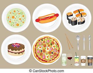voedingsmiddelen, drank