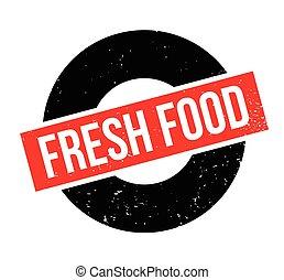 voedingsmiddelen, fris, rubberstempel