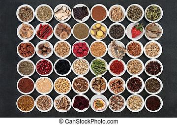 voedingsmiddelen, gezondheid, afrodisiacum, sampler