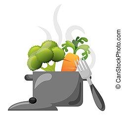 voedingsmiddelen, het koken