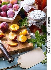 voedingsmiddelen, kunst, recepten