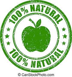 voedingsmiddelen, natuurlijke , pictogram