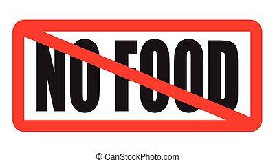 voedingsmiddelen, nee