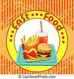 voedingsmiddelen, products., vasten