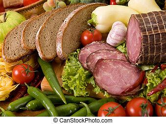 voedingsmiddelen, samenstelling