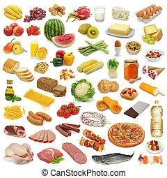 voedingsmiddelen, verzameling