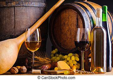voedingsmiddelen, winery, wijntje