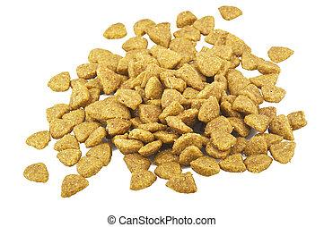 voedingsmiddelen, witte hond, accessoire