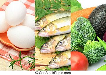 voedsel, gevarieerd