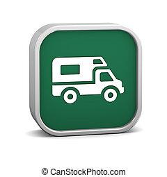 voertuig, recreatief, meldingsbord