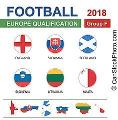 Voetbal  Europa Kwalificatie Groep F
