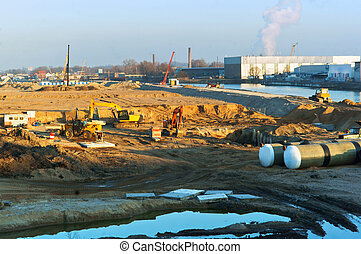 voetbal, bouwsector, stadion