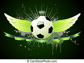 voetbal, emblems