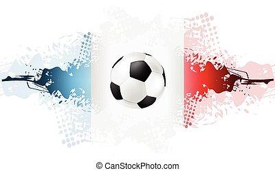 voetbal, europeaan, kampioenschap, frankrijk