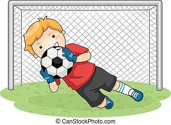 voetbal, goalkeeper