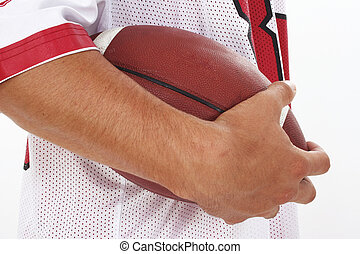 voetbal, hand