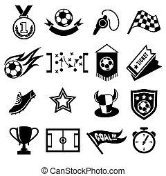 voetbal, iconen