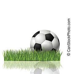voetbal, illustratie