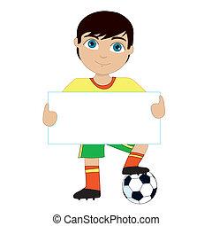 voetbal, jongen
