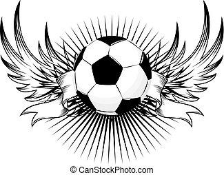 voetbal, logo