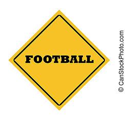 voetbal, meldingsbord
