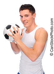 voetbal, ventilator