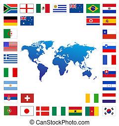 voetbal, wereld kop, 2010