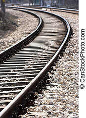 voetspooren, trein