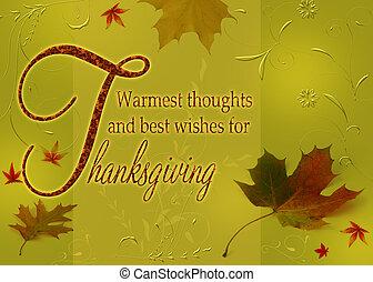 voeux, thanksgiving, heureux