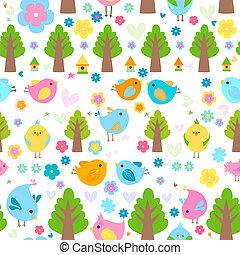 vogels, achtergrond