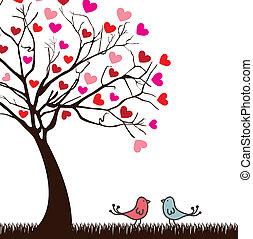 vogels, liefde