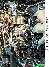 vogn motor, afdelingen
