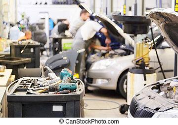 vogn reparer, shop