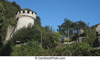 Vogogna Castle Italy - The Visconteo castle in Vogogna,...