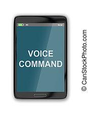 Voice Command concept