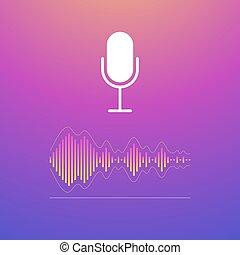 Voice recognition concept