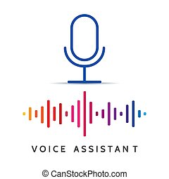 Voice recognition help. Home or personal voices assistance,...