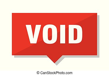 void red tag