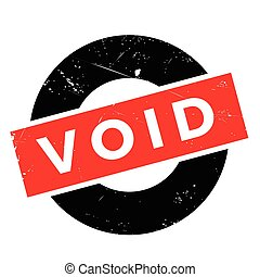 Void rubber stamp. Grunge design with dust scratches....