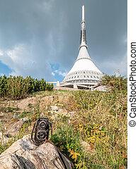 Voigtlander Superb camera on mountain Jested in summer - ...