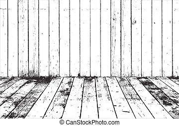 voile de surface, texture bois