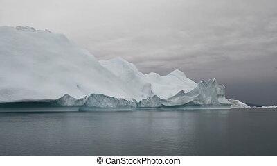 voile, iceberg