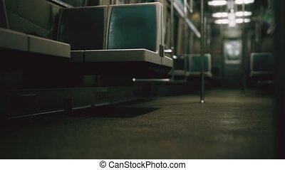 voiture, épidémie, because, métro, covid-19, vide, ...