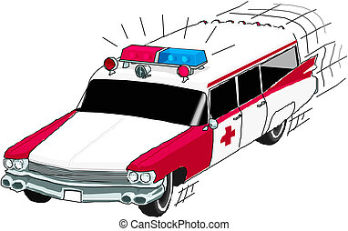 voiture, ambulance