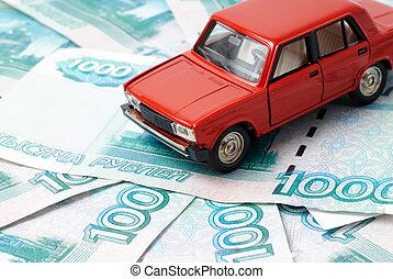 voiture, argent