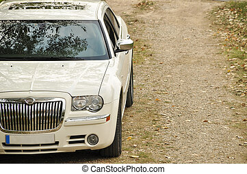 voiture, blanc