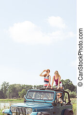 voiture, commun, voyage